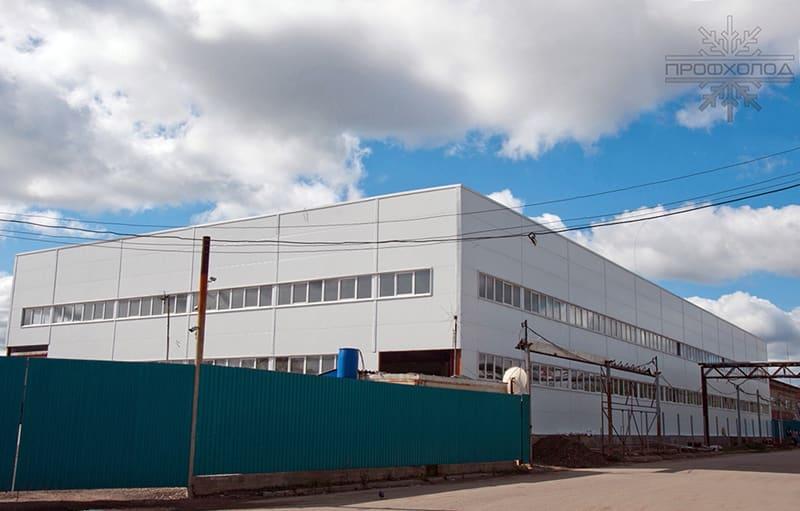 Завод по производству пластиковых профилей